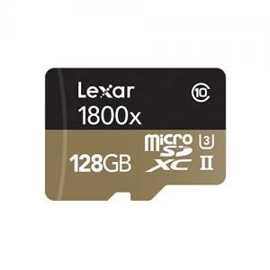 Lexar Professional 1800x microSDXC UHS II Cards price in hyderabad, telangana, nellore, vizag, bangalore