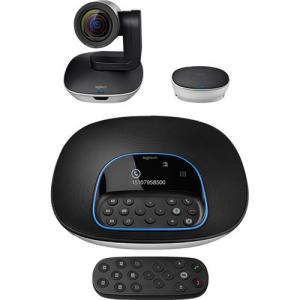logitech group video conferencing system for Larger Rooms price in hyderabad, telangana, nellore, vizag, bangalore